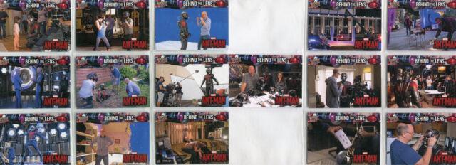 2015 Avengers 2 Age of Ultron insert set behind the lense BTL1-BTL15