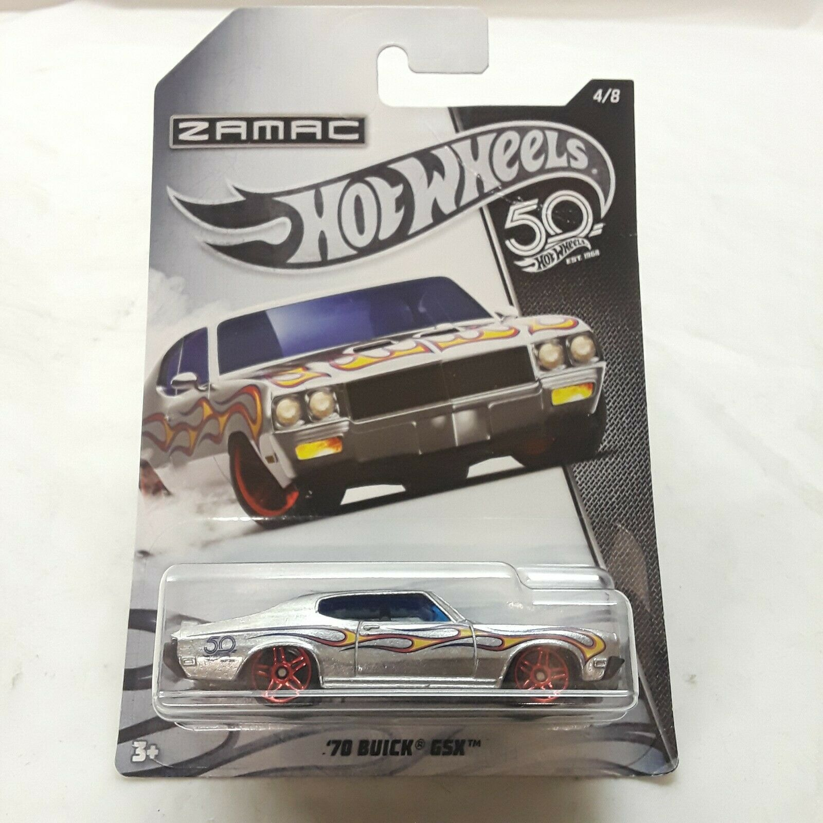2018 ZAMAC 50th Anniversary Hot Wheels The Limits Since 1968 Complete Set of 8 for sale online