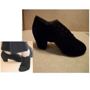 Capezio City Mens Latin Dance Shoes Salsa Black Leather BR28 New In Box