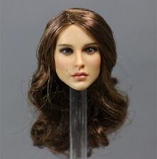 KT008 1/6 Long Hair Girl Head Sculpt For Female Phicen Body Figure Toy