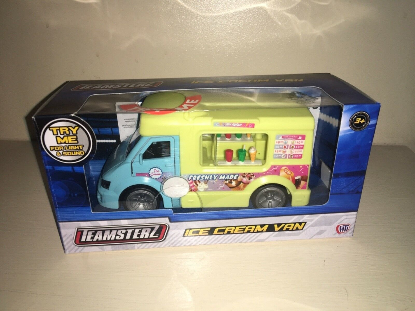 Teamsterz Musical Ice Cream Van Lights & Sounds Die cast Toy Model Vehicle Kids