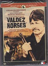 VALDEZ HORSES (1973) CHARLES BRONSON J IRELAND DOWN TO EARTH WEST R3 PAL NEW DVD