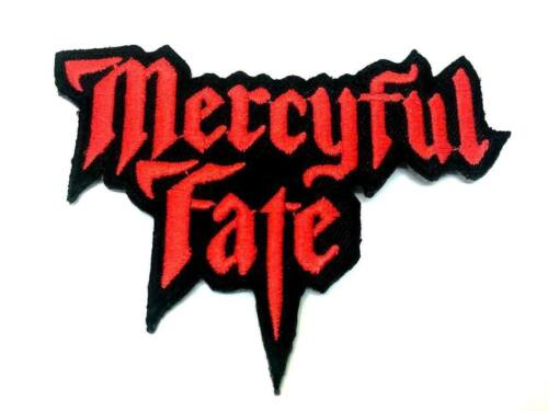 """Mercyful Fate Cut Out Iron On Sew On Embroidered Patch 3.4/""""x2.7/"""""""