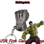 Details about  /Marvel Comics Hulk Fist The Avengers Movie metal Key chain USA
