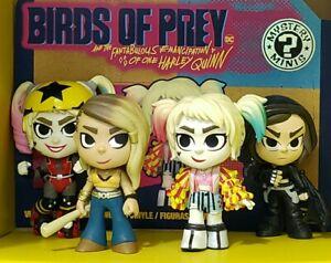 Funko Mystery Minis Birds Of Prey Lot Of 4 Harley Quinn Ebay
