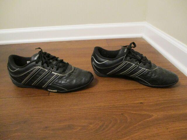 Used Worn Size 10 Adidas David Beckham T6 Night DB Shoes Black Silver