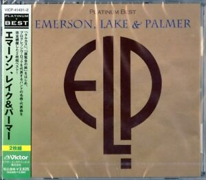 EMERSON-LAKE-amp-PALMER-S-T-JAPAN-2-CD-F56