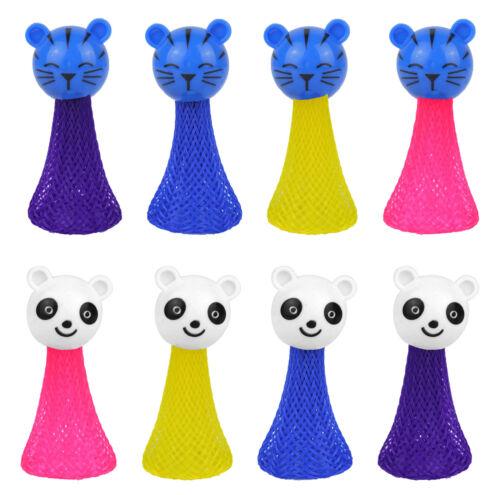 6 Jumping Animals Pinata Toy Loot//Party Bag Fillers Wedding//Kid Jump Up Spring