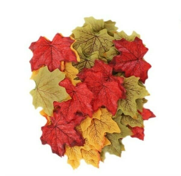 Craft Leaves - Pack Of 50 Art & Craft (Brand New)