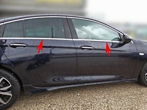 Acero inoxidable las barras de la ventana cromo para opel insignia B Limousine | a partir de 2017 - | 8tlg set