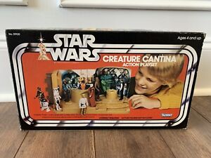 STAR WARS CREATURE CANTINA BOX ONLY C-8++ VINTAGE KENNER 1979 ANH LUKE R2D2 C3PO