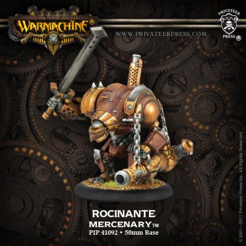 Warmachine Upgrade Kit PIP 41092 NEW Mercenaries Rocinante Heavy Warjack
