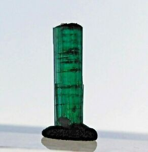3.55ct, Natural Rare Greenish Blue Tourmaline Crystal Unique Pendant, US Seller