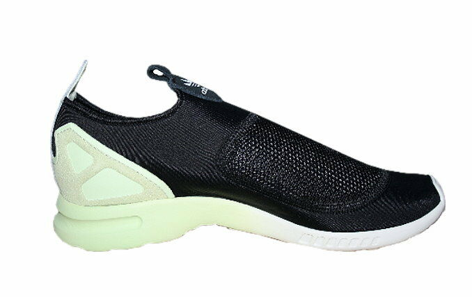 Adidas ZX Flux ADV Smooth Slip Slip Slip On Damen Schuhe Sneaker Slipper schwarz 38 2/3 275d03
