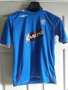 Glasgow Rangers Football Club Shirt Top Umbro Carling XL Boys XLBoys EX