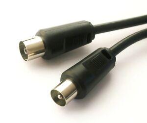 20cm-TV-Fernseher-Radio-Koax-20-cm-Kabel-Anschluss-Antennenkabel-0-2m-Koaxial
