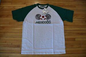 8747ac4f66d NEW unworn FIFA MEXICO 86 World Cup Logo T-Shirt XL + Russia 2018