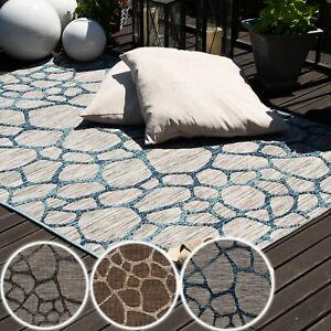 Indoor-und-Outdoorteppiche-Wetterfester-3D-Teppich-fuer-Balkon-Terrasse-Lounge
