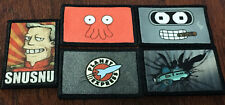 Futurama Morale Patch Lot 5 Patches Tactical Military Army Badge Hook Flag USA