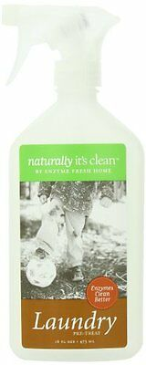 Naturally It's Clean Laundry Pre-Treat Concentrate Kit 16oz, New