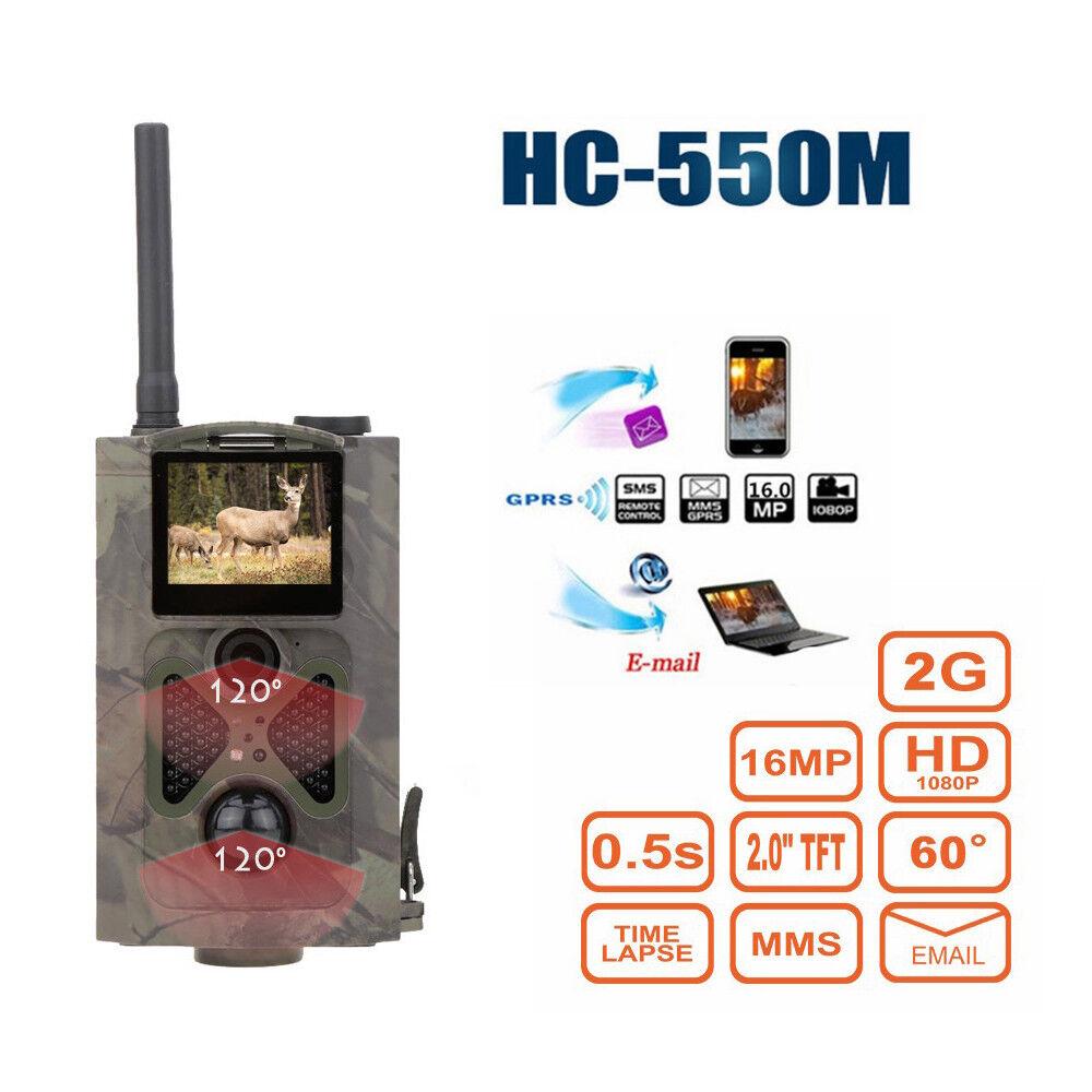 Kamera för trådlös Farm Security Hunting Cam Vattentäta Nattkameror