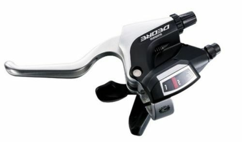 NEW Shimano DEORE ST-M590 Brake Lever With Rapidfire PLUS Shifter Left Hand Only