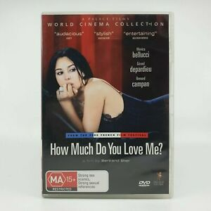 DVD-How-Much-Do-You-Love-Me-Bellucci-Depardieu-PAL-R4