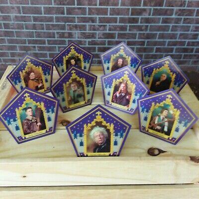 Harry Potter ☆☆☆10 PACK CHOCOLATE FROG CARD SET☆☆☆ Honeydukes