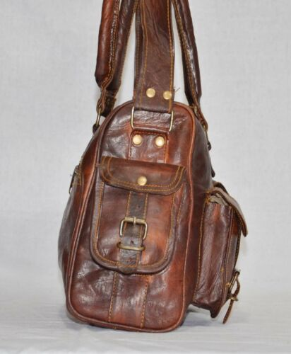 Borsa A Tracolla Donna Tote Purse Vintage in Pelle Donna Messenger Hobo