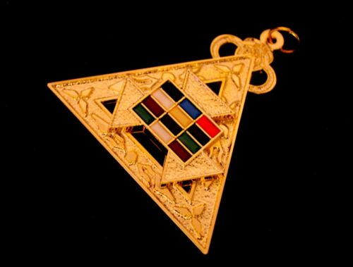 MASONIC ROYAL ARCH PAST HIGH PRIEST APRON PHP HAND EMBROIDERED NEW Pendant