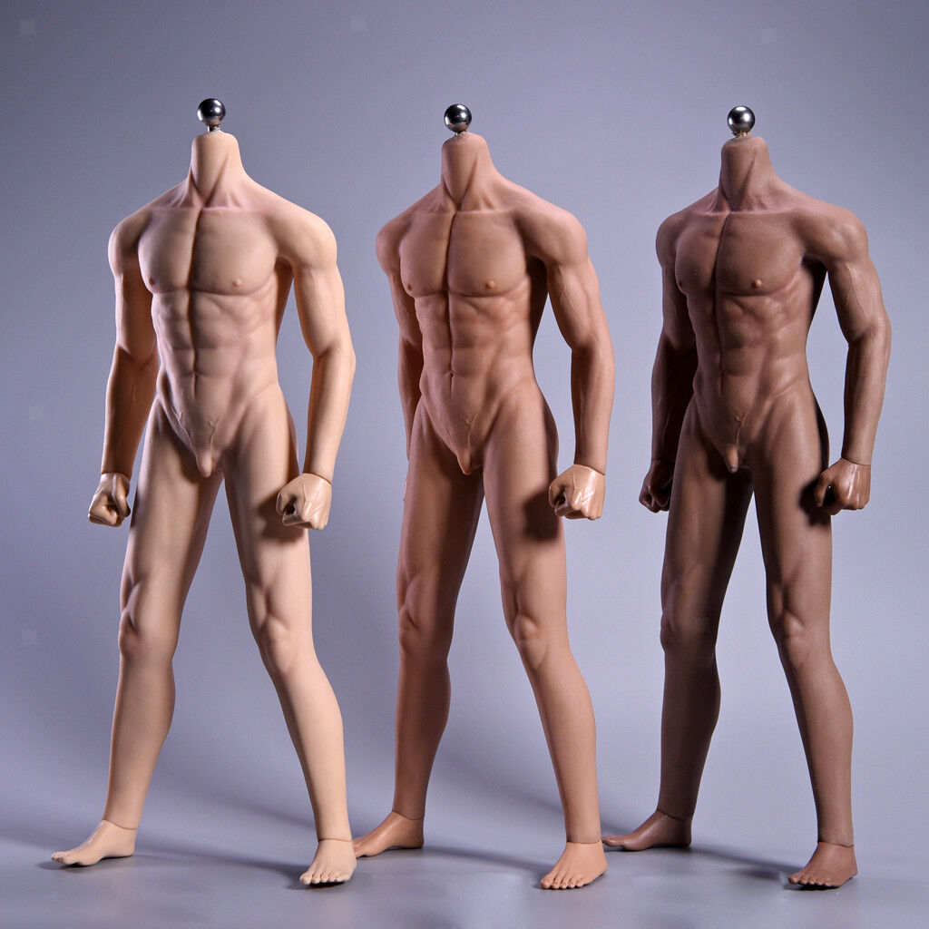 1 6 Super-Flexible Male Seamless Nude Body Stainless Steel Skeleton Figure Toy