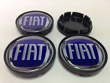 4 x Silikon Nabenkappen Radkappe Alufelgen 55mm/50mm für FIAT
