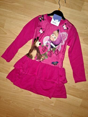 Neu Kleid Tunika Mascha Und Der Bär 146