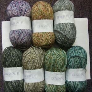 5-x-100g-Sirdar-Dapple-Double-Knit-Wool-Yarn-for-Knitting-Crochet