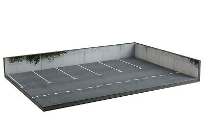 Diligente Diorama Parking | Car Park - 3 Inch | 1/64ème - #3in-3-bb-bc-bd-001 Originale Al 100%