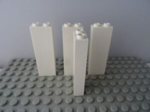 LEGO 1 x 2 x 5 BLACK BRICK x 4 parte 2454