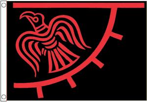 Odin/'s Raven Banner Viking Norse 4/'x3/' Flag