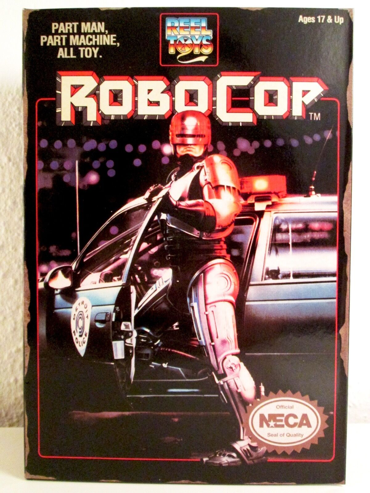 NECA ROBOCOP Video Game Appearance NUOVO NEW NIB IN DISPLAY BOX REEL TOYS