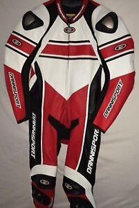 professional-motorcycle-1pc-cowhide-racing-suit-yamaha-size-44-uk-free-postage