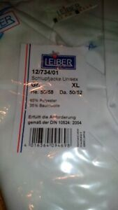 PräZise Leiber 12/734 Unisex Schlupfjacke Damen Herren Kasack Langarm 95c° Waschbar Xl Ärzte- & Schwesternkleidung Business & Industrie