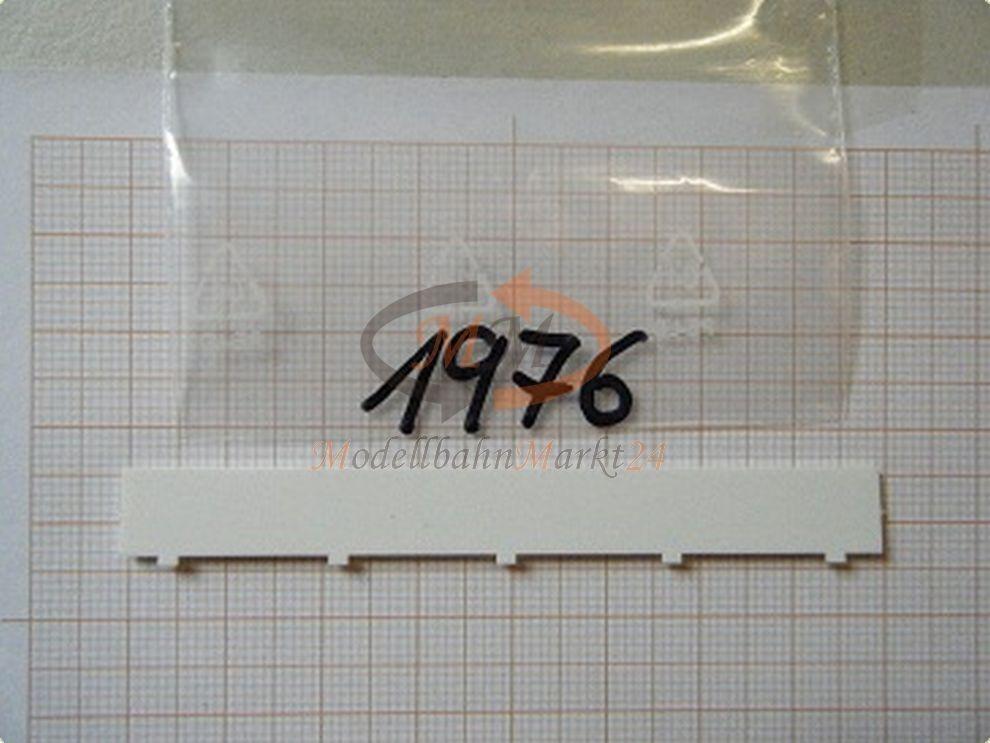 30x ALBEDO Ersatzteil Ersatzteil Ersatzteil Ladegut Seitenschutz UFS weiß H0 1 87 - 1976  | Fein Verarbeitet  49d42a