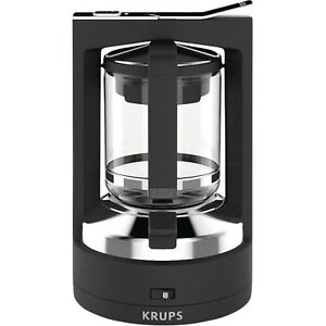 Krups KM4689-10 T 8.2 Schwarz Kaffee-Druckbr<wbr/>ühmaschine 850 W Kaffeemaschine