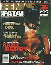 Femme Fatales Halle Berry Catwoman Christina Cox Alexa Davalos 25 Sexiest DVDs