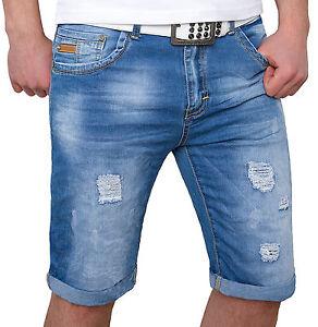 1a192fb83b2f Das Bild wird geladen Herren-Bermuda-Hose-kurze-Shorts -Sommerhose-Bermudashorts-aus-