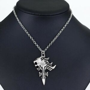 Cosplay final fantasy viii 8 griever squall leonhart necklace lion image is loading cosplay final fantasy viii 8 griever squall leonhart aloadofball Images