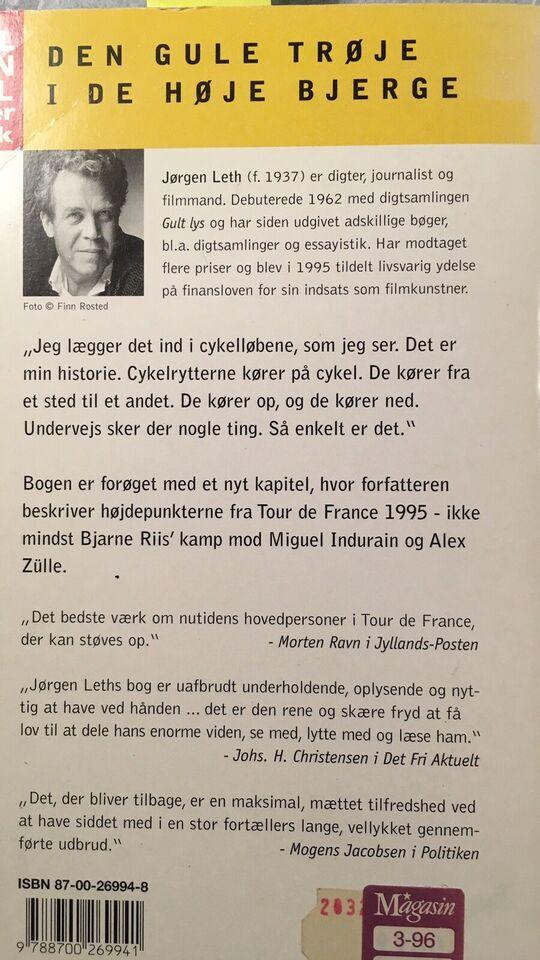 den gule trøje, Jørgen Leth, emne: krop og sundhed