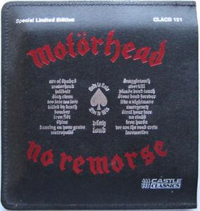 Motorhead-No-Remorse-NEW-MINT-RAR-CD-album-in-Ltd-edition-7-034-size-LEATHER-CASE