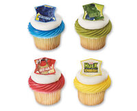 Hulk Avengers 24 Cupcake Rings Birthday Favors, Prizes Bag Fillers Party Supply