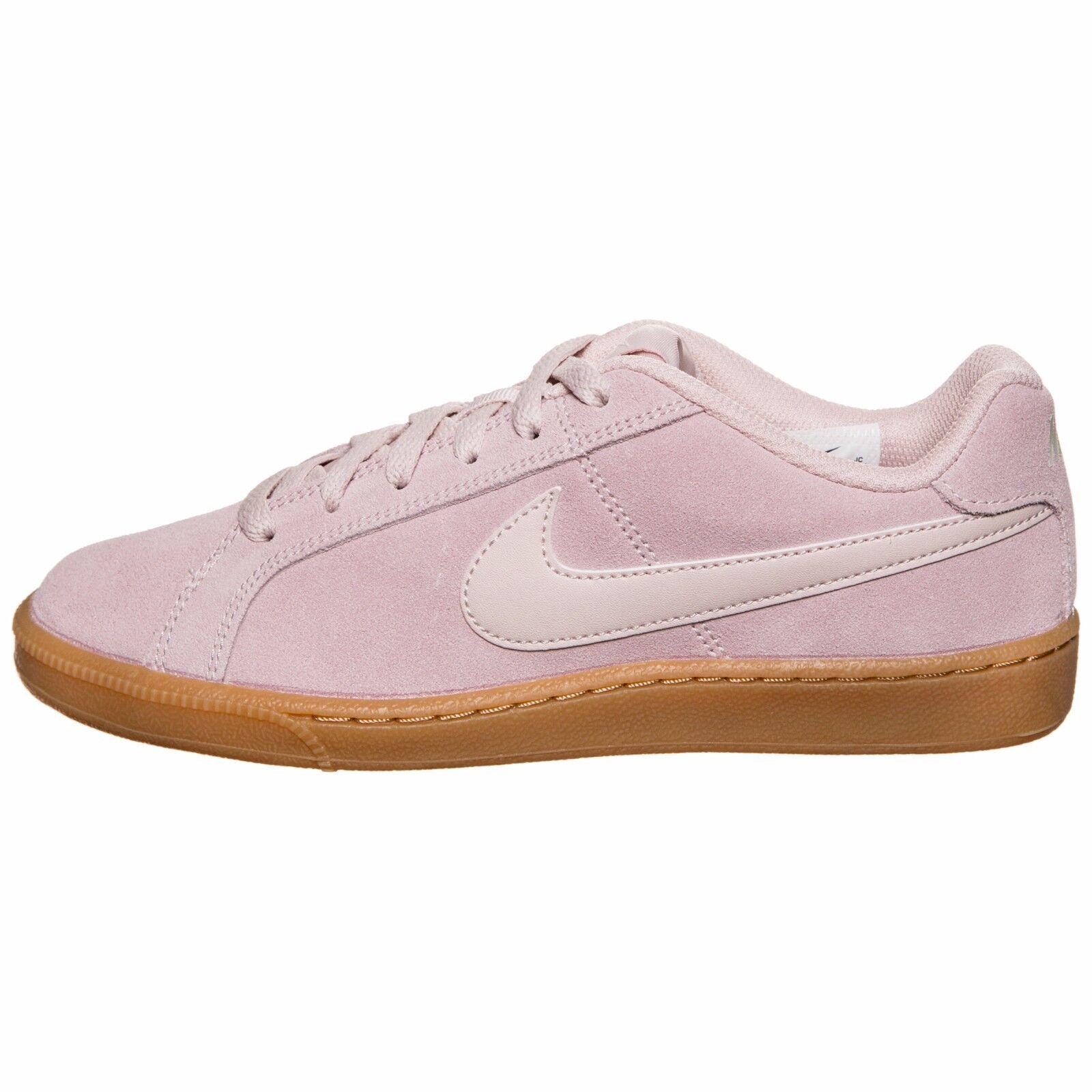 Nike - Wmns Court Royale Suede - Schuhe Damenschuhe - Silt ROT/Silt ROT - 916795 600