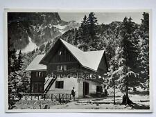 RIFUGIO GREGO Sella Somdogna CAI alpinismo MALBORGHETTO Udine vecchia cartolina*